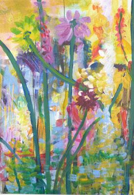 Garten 1   100x80  2015  A.a.L.