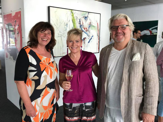 Vernissage der Ausstellung The Travelling Art Gallery_Foto: TTAG