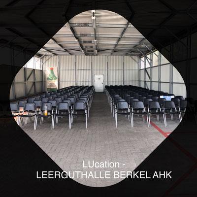 LUcation -  Leerguthalle BERKEL AHK