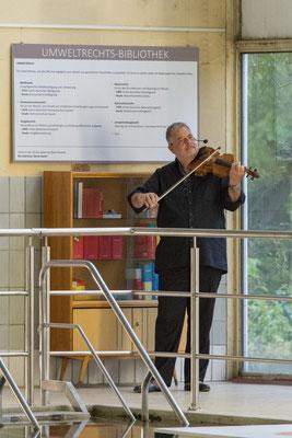 """Klezmer-Konzert  - """"Freylekh"""", LUcation - Ehemaliges Hallenbad Nord, Foto: Martin H. Hartmann"""