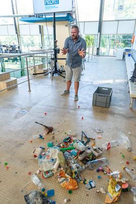 Fotos: © Thomas Rittelmann_Problem Kunststoff?_Schwierigkeiten bei der Verwertung und in der Natur_GML-Veranstaltungsreihe in der LUcation