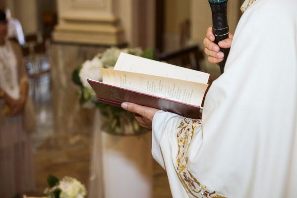 Matrimonio religioso in chiesa a Sergnano