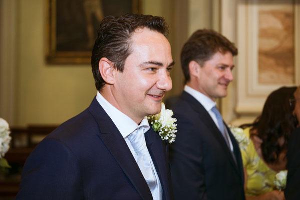 Lo sguardo dello sposo