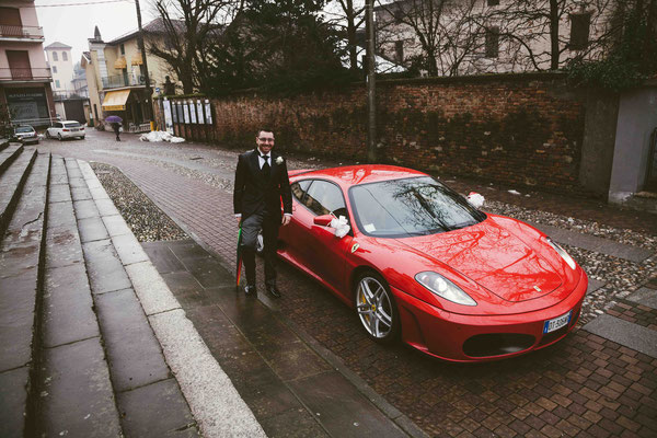 L'auto dello sposo