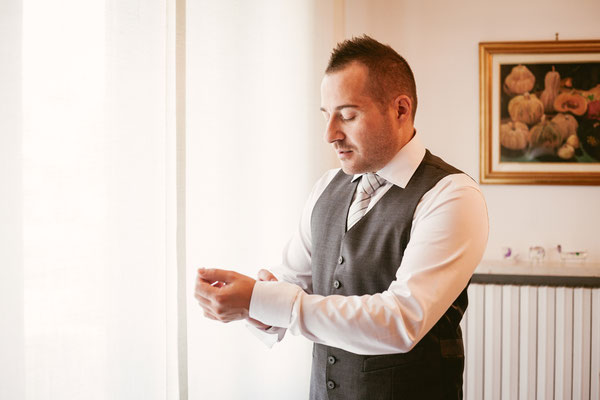 La preparazione dello sposo