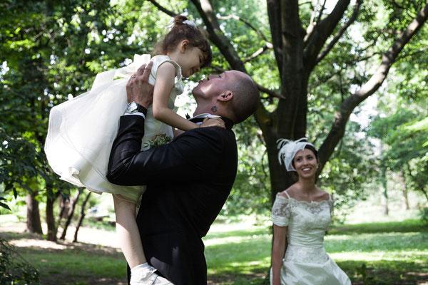 Lo sposo con sua nipote