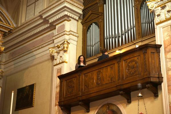 Organo nella chiesa di Sergnano