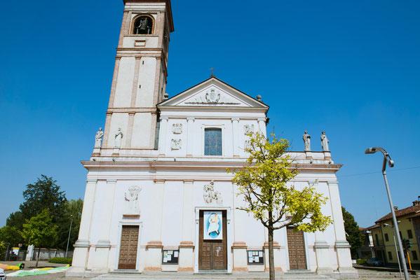 La chiesa di Sergnano