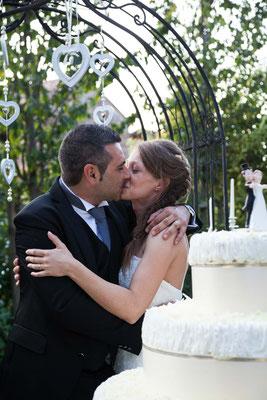 Il bacio degli sposi