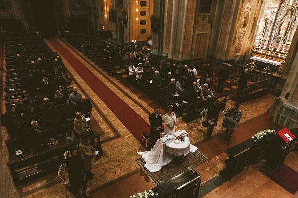 Matrimonio in chiesa a Vaiano Cremasco