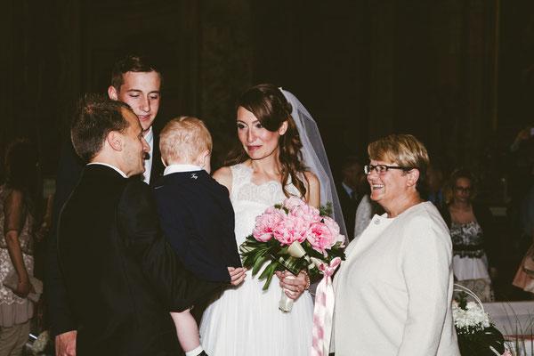 Il primo incontro degli sposi