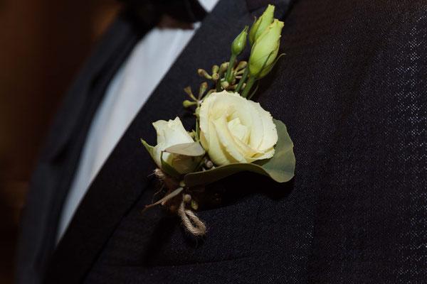Il fiore all'occhiello dello sposo