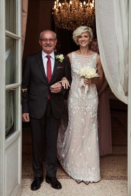 La sposa col padre