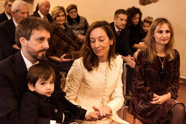 Gli sposi e il figlio