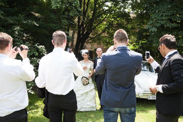 Foto agli sposi