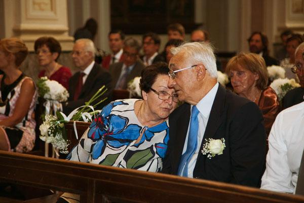 I genitori della sposa