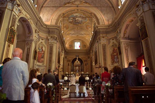 Matrimonio nella chiesa di Credera Rubbiano