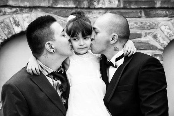 Lo sposo e la sua famiglia