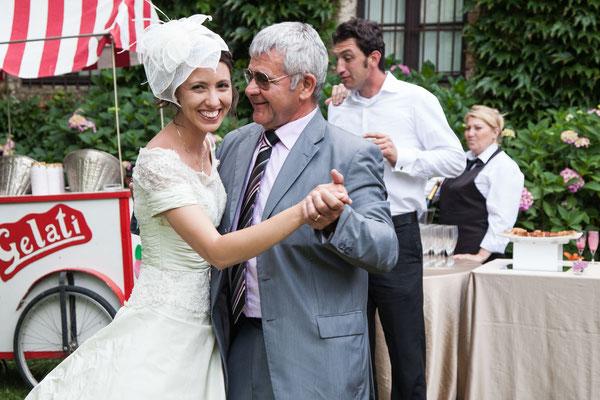 Il ballo della sposa col padre