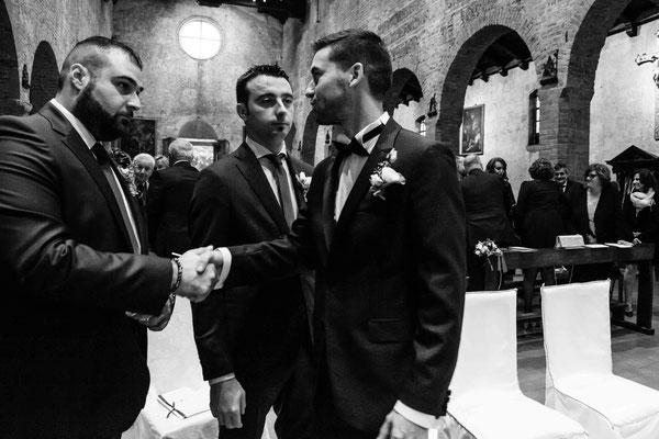 Lo sposo e i suoi testimoni