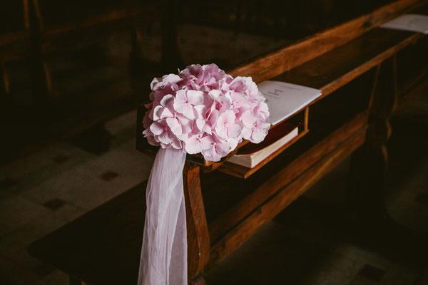 Allestimenti floreali in chiesa