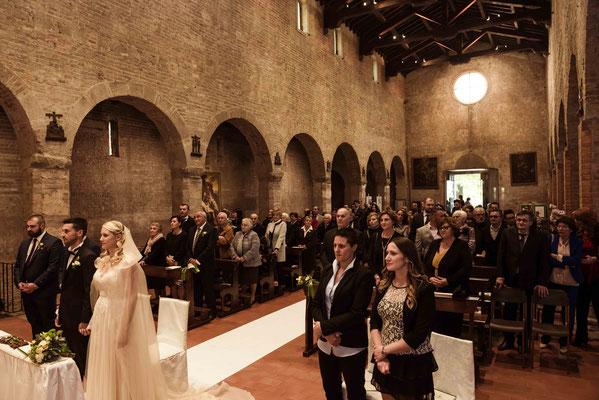 Cerimonia religiosa a Palazzo Pignano