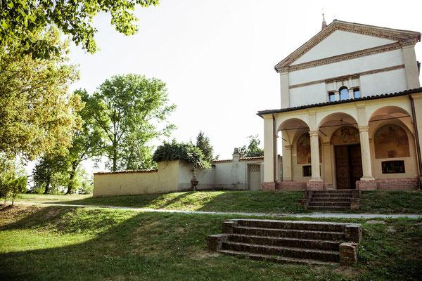 La chiesa del Binengo a Sergnano