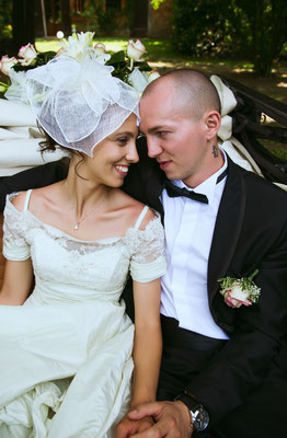 Ritratti degli sposi