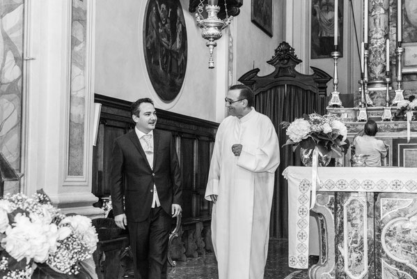 Lo sposo e il prete