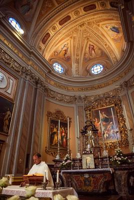 Matrimonio nella chiesa di Casirate