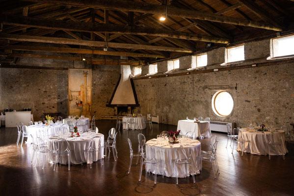Sala per il ricevimento del matrimonio