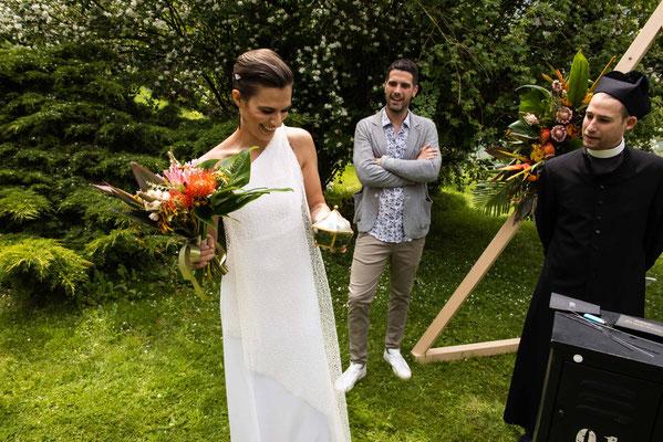 La sposa e le fedi
