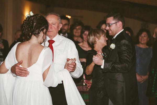 Balli degli sposi con i genitori