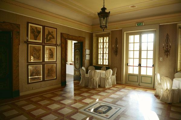 Interni di Villa San Michele a Ripalta Cremasca
