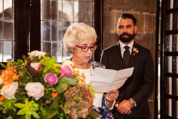 Il discorso della mamma dello sposo