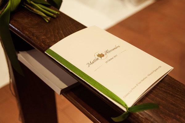 Il libretto del matrimonio