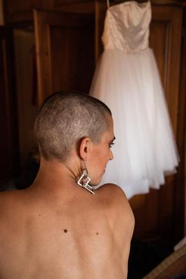 Sposa capelli rasati