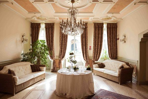 Interni della Villa Cavenago a Trezzo sull'Adda