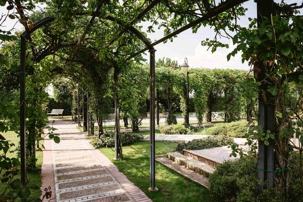 Il giardino di Cascina San Carlo a Vidalengo