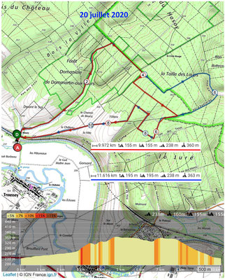 Le 20 juillet 2020 TROUSSEY, Forêt domaniale de Dommartin-aux-Fours