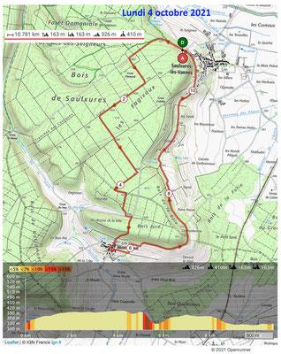 Le 4 octobre 2021, SAULXURES-LES-VANNES MONT-L'ETROIT