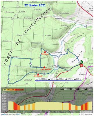 Le 22 février 2021, les Fontaines des Aglands et de Gomévaux