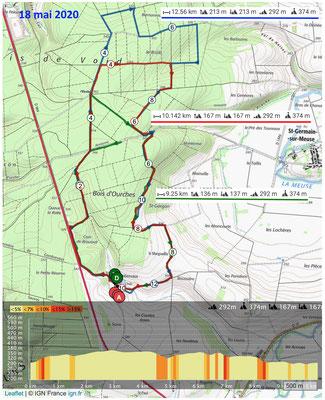 Le 18 mai 2020, GOMBERVAUX la forêt d'OURCHES