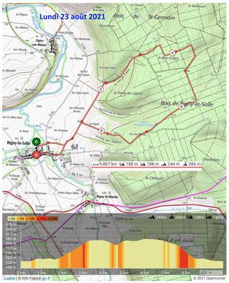 Le 23 août 2021, RIGNY LA SALLE, Le Val de l'Âne
