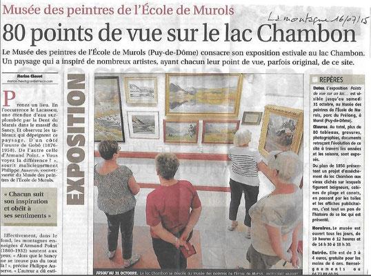 Le groupe des Touristes (Chantal, Brigitte, Christiane et Françoise) en visite au Musée de Murol