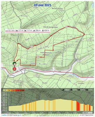 Le 10 mai 2021, RIGNY SAINT MARTIN, Forêt de l'Essart