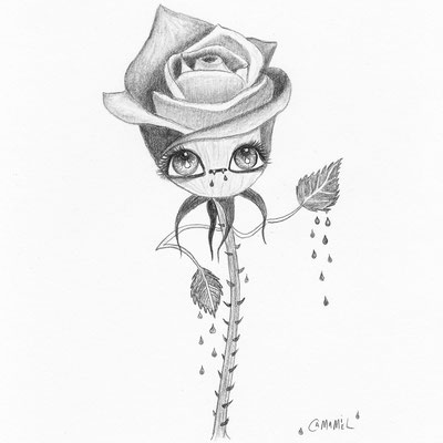 Rosa sangrienta (Gothspringchallenge 2018)