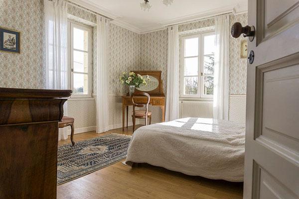 Chambre d'hôte Muscadelle, lit flanc gauche