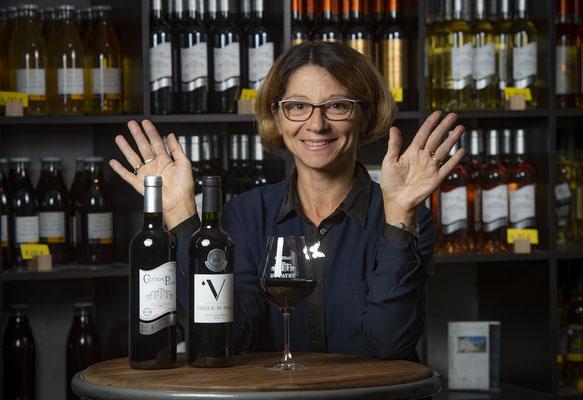 Valérie et les vins du Château du Payre