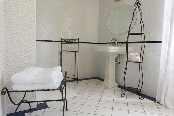 Chambre d'hôte Muscadelle, salle de bain